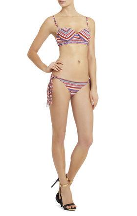 Boho Scarf Underwire Bikini Top