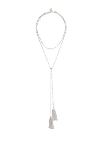 Toggle Tassel Necklace