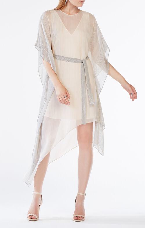 Suzy Striped Silk Dress