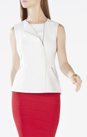 Mallary Zipper Pocket Vest