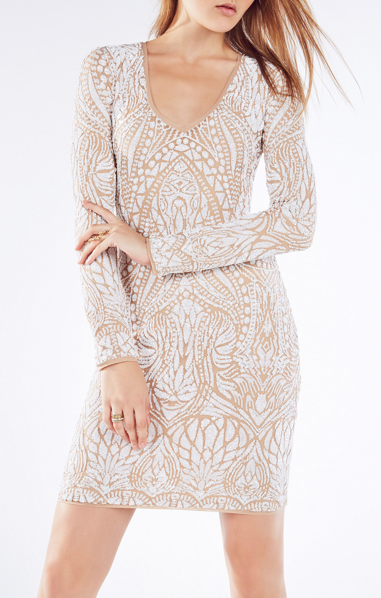 Morris Tapestry Sequined Dress