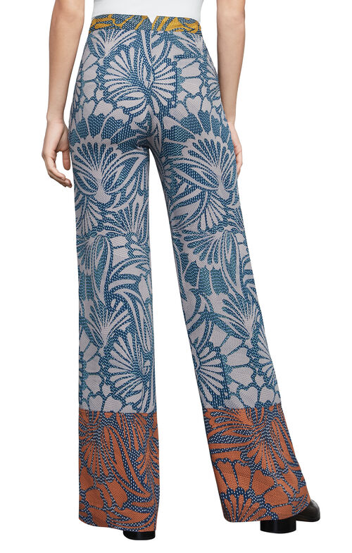 Chris Floral-Print Wide-Leg Pant