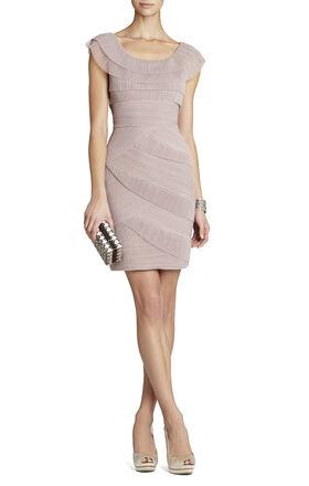 Briana Short Pleated Dress