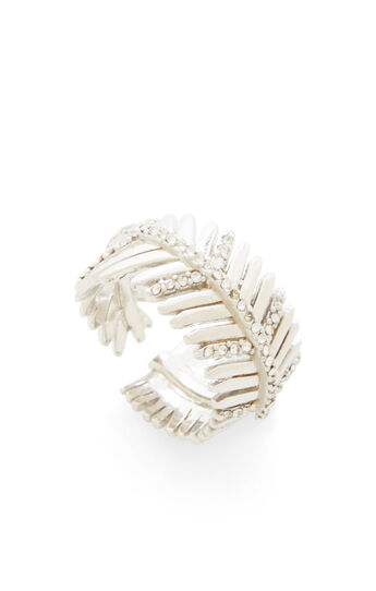 Pave Feather Ring
