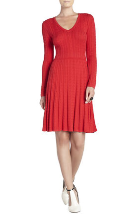 Keila Cable-Knit Dress