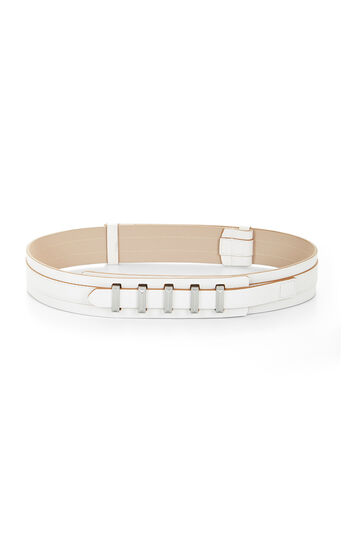 Pyramid-Bar Double-Layer Waist Belt