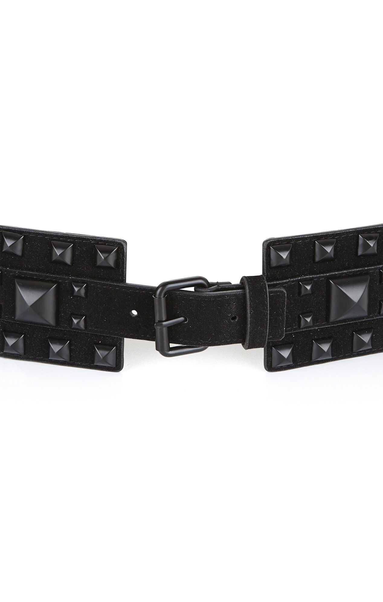 Multi Pyramid-Stud Waist Belt