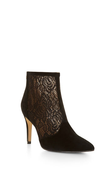 Lore High-Heel Lace Bootie
