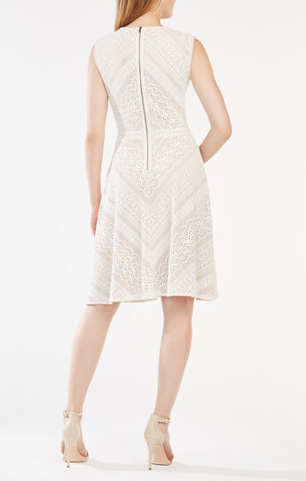 Dalency Striped Lace Dress