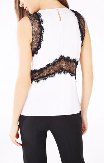 Aemelia Lace-Trimmed Tank Top