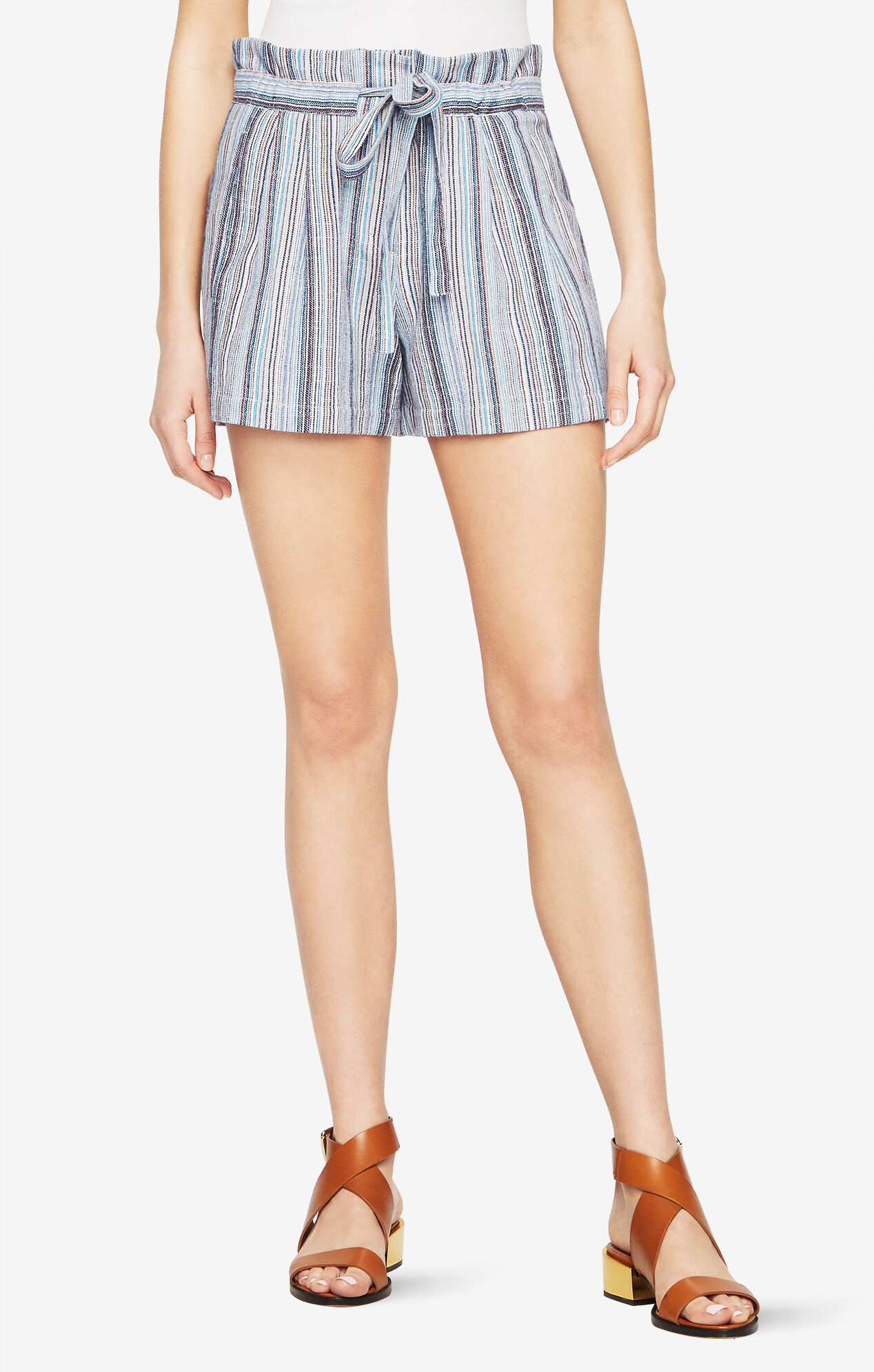 Renee Striped Shorts