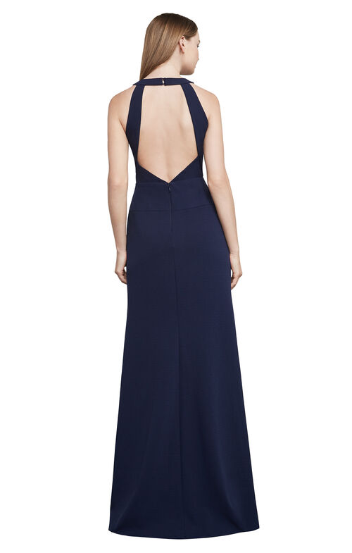 Salome Cutout Halter Gown