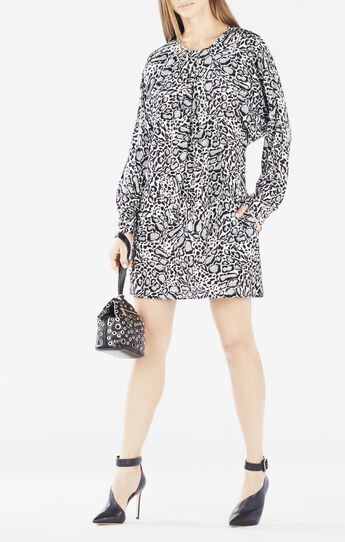 Ryleigh Ocelot Print Dress