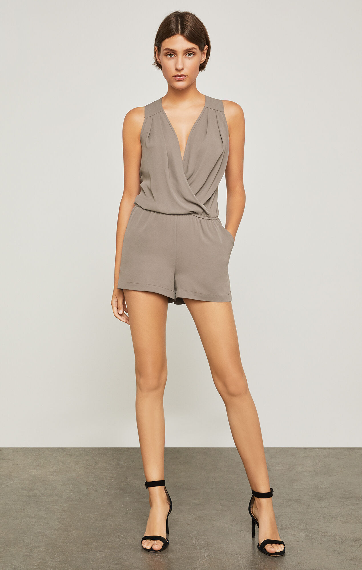 Thalia Pleated Romper