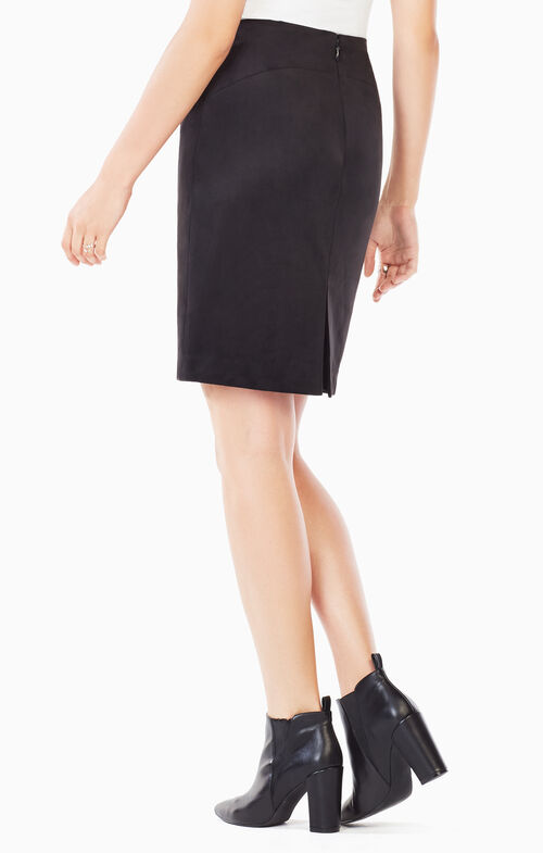 Amaris Faux-Suede Skirt