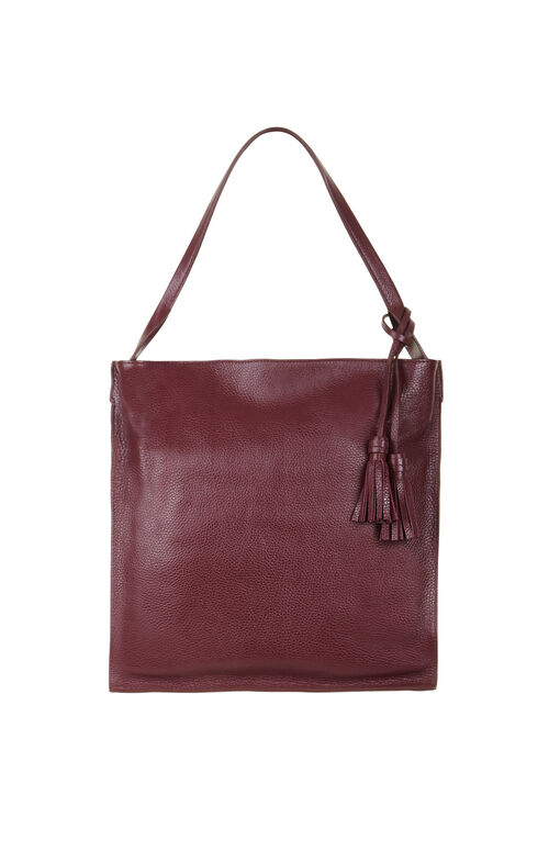 Raquel Leather Hobo Bag