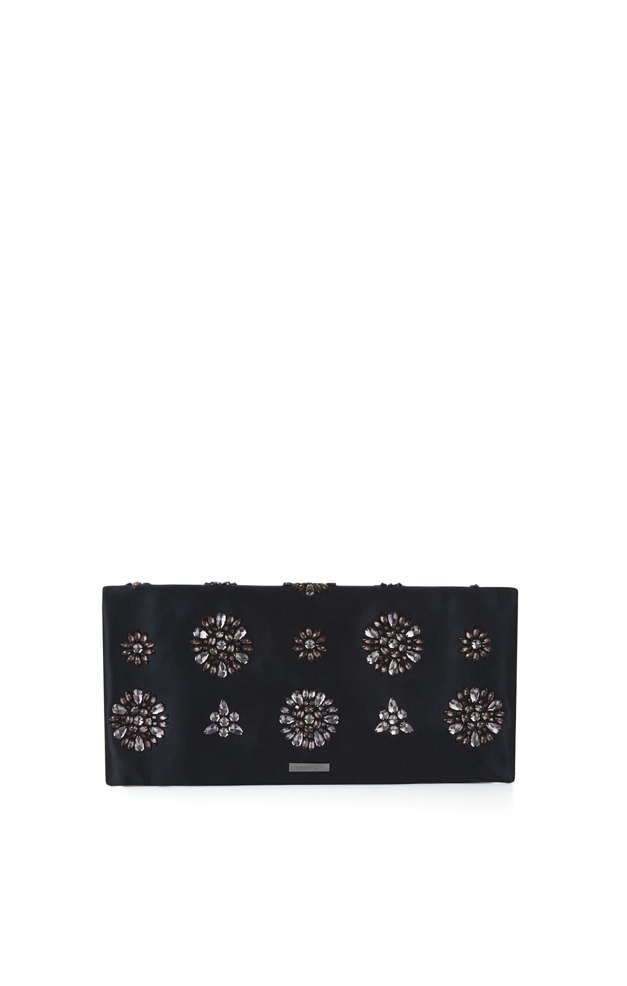 Amelie Flower Jeweled Clutch
