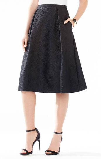 Lenora Floral Jacquard Skirt