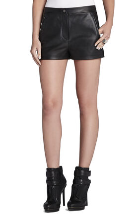 Andre Leather Shorts