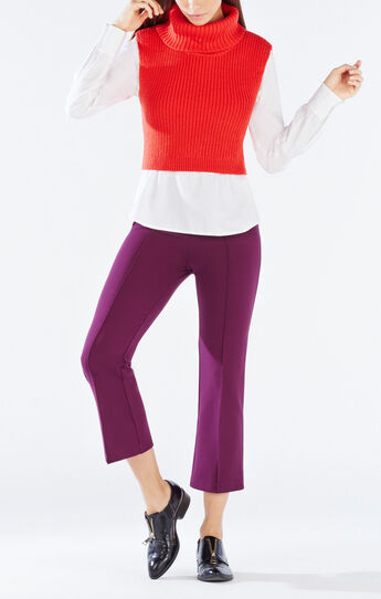 Casia Cropped Turtleneck Sweater