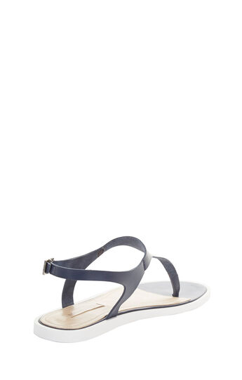 Jerrie Leather T-Strap Sandal