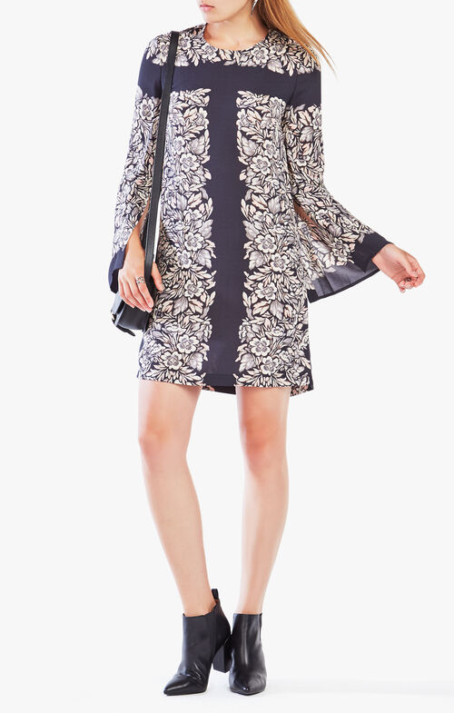 Dulchey Floral Print Tunic Dress