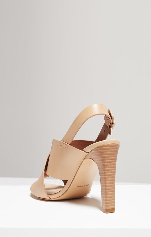 Pascal Crisscross Leather Sandals