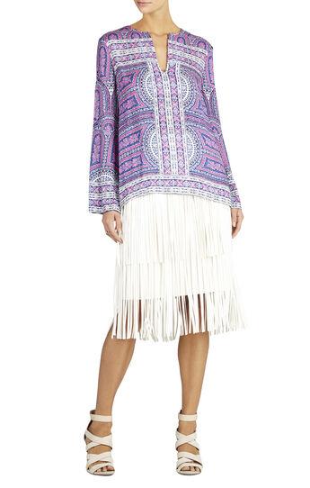 Haida Long-Sleeve Printed Top