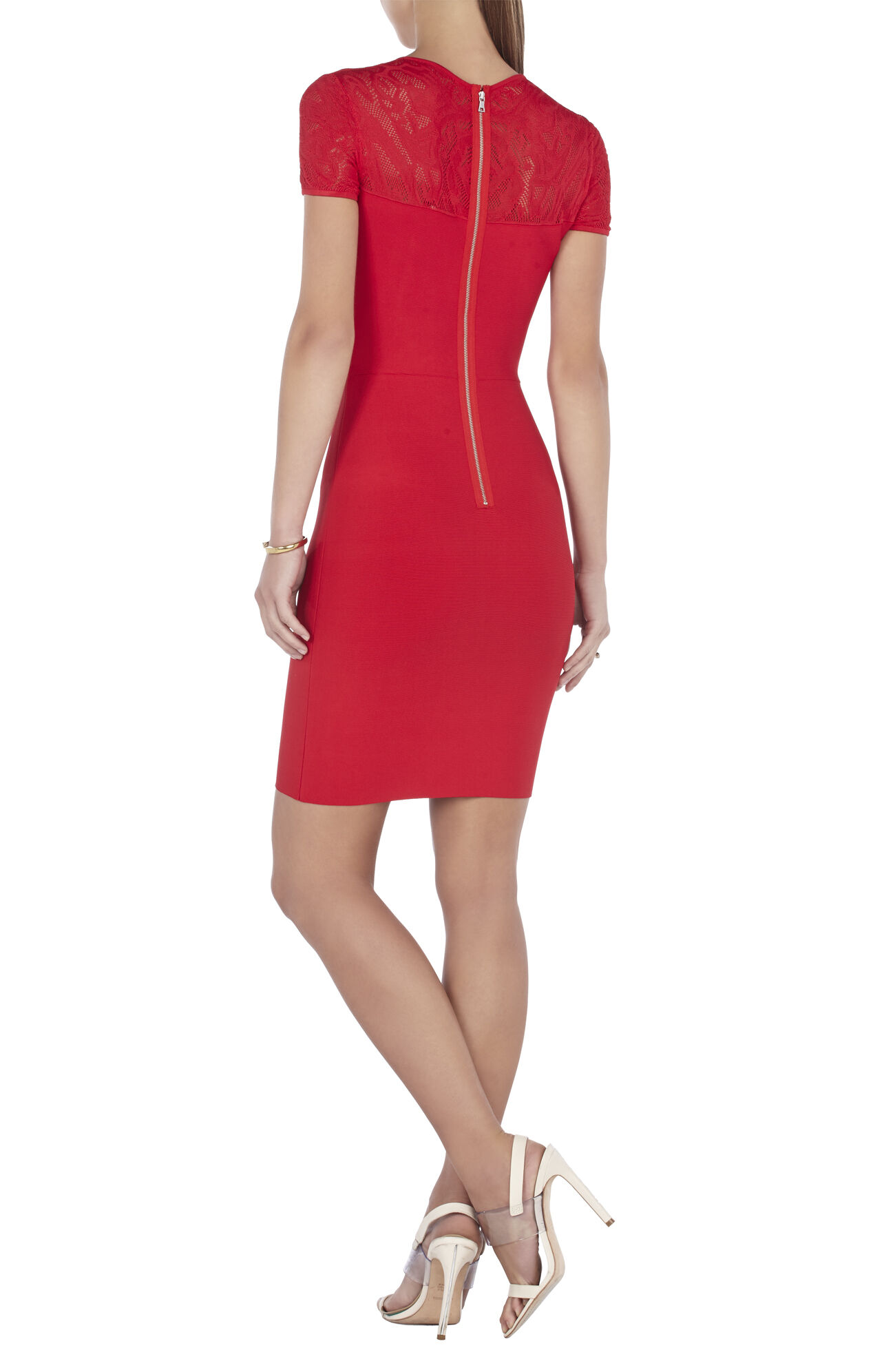 Myley Pointelle-Detail Dress