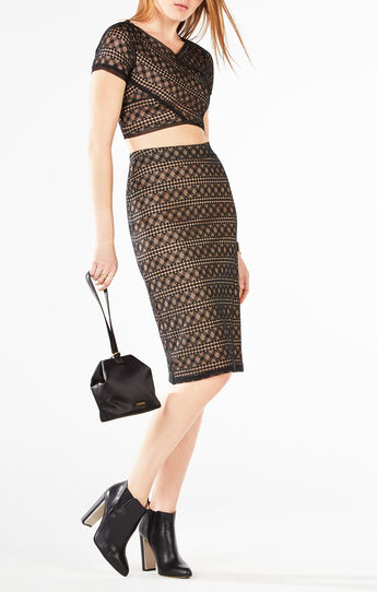 Vicky Two-Piece Lace Dress