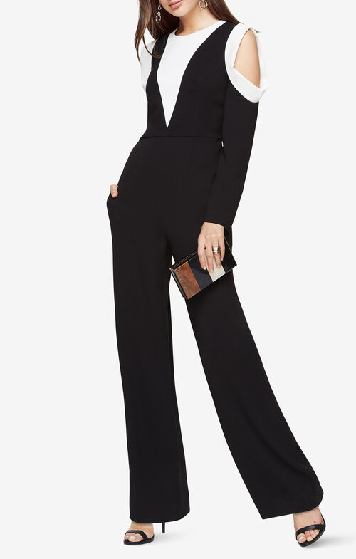 Barrett Cold-Shoulder Jumpsuit
