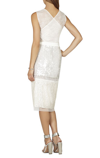 Reyna Sleeveless Fitted Cocktail Dress