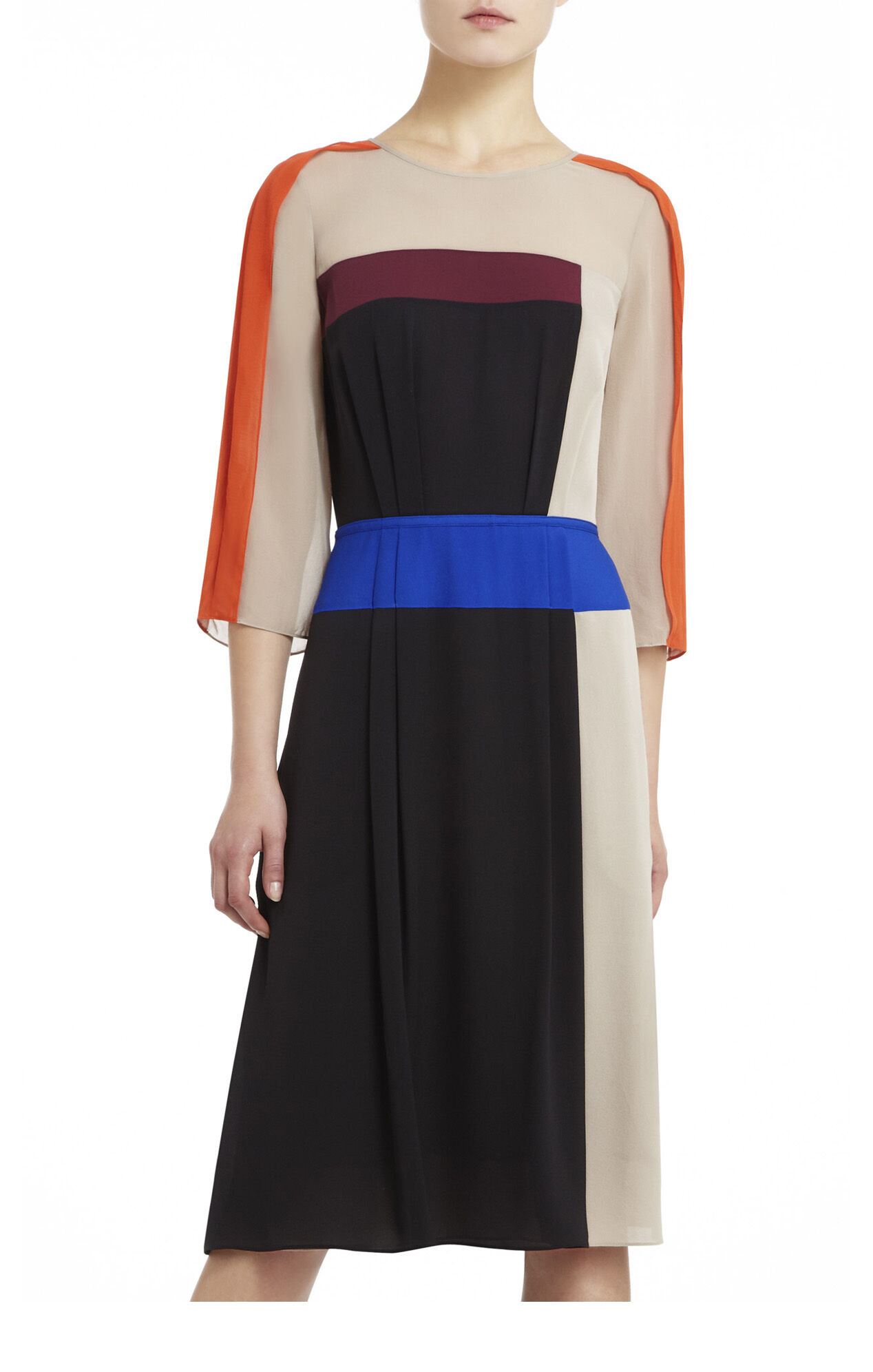 Runway Fionne Color-Blocked Dress