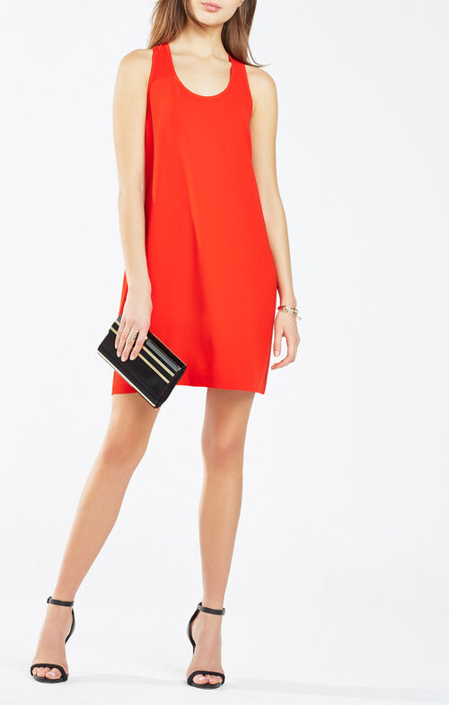 Janice Twist-Back Dress