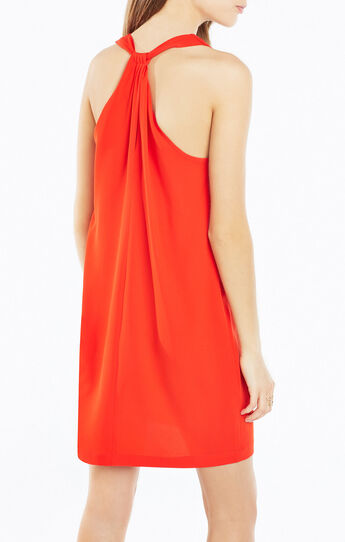 Janice Twist-Back Dress