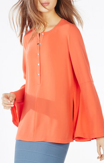 Nataleigh Bell-Sleeve Top