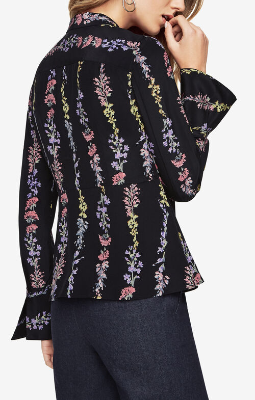 Edie Floral-Print Top