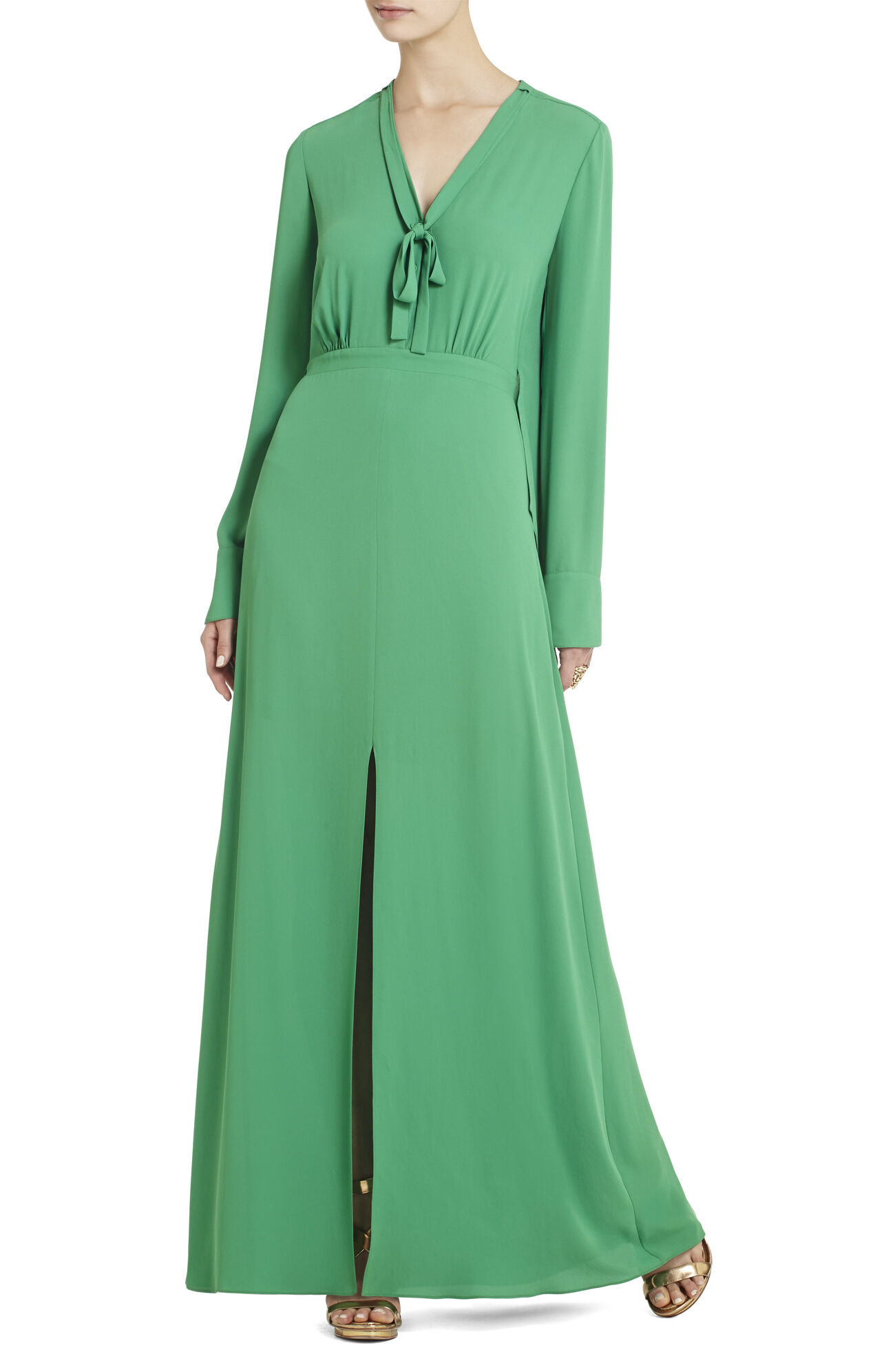 Meredith Long-Sleeve Maxi Dress