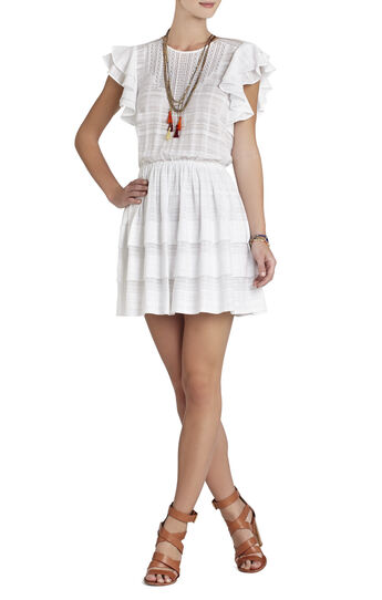 Joice Sleeveless Pleated-Skirt Dress