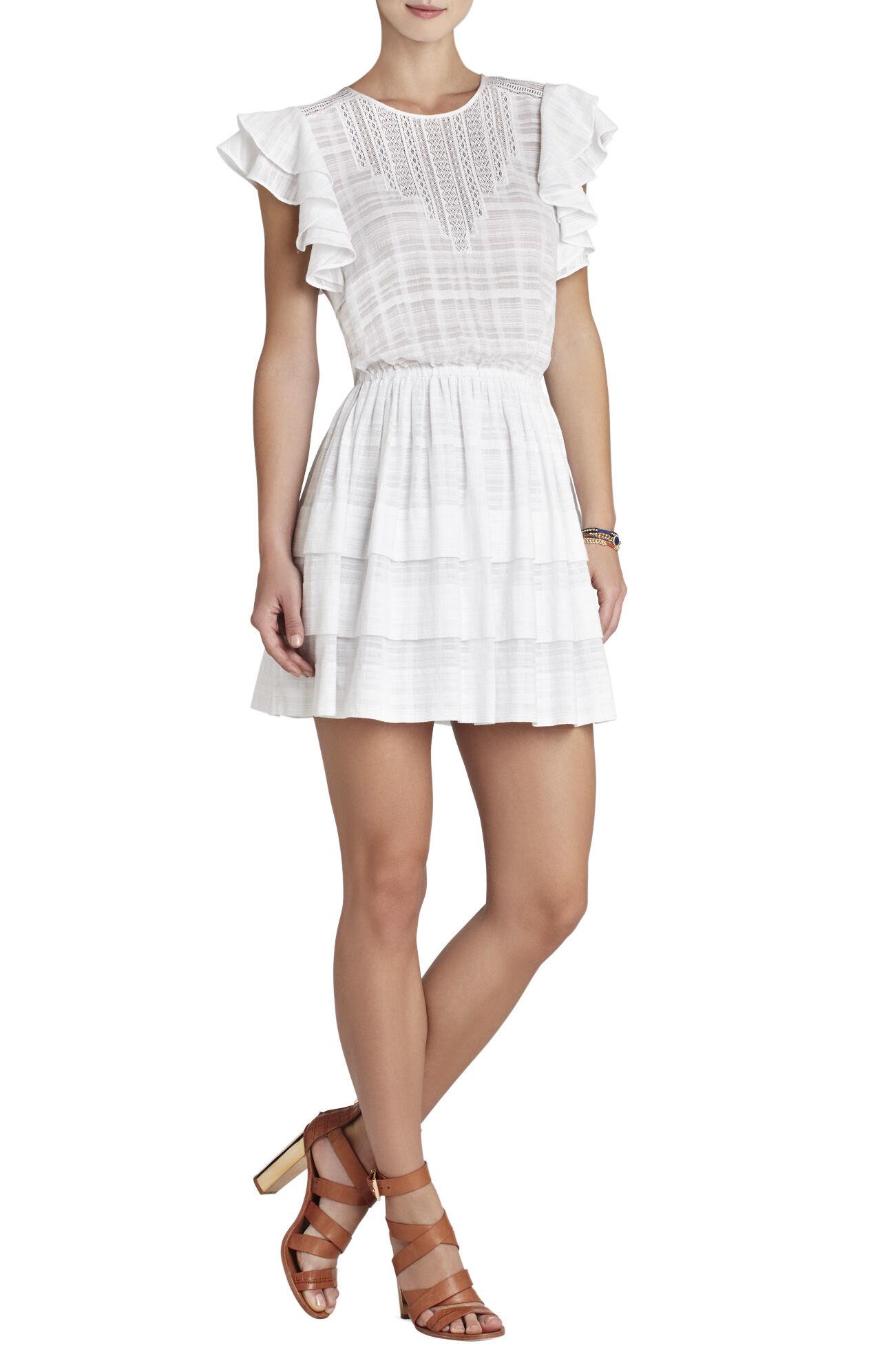 Joice Sleeveless Pleated-Skirt Dress
