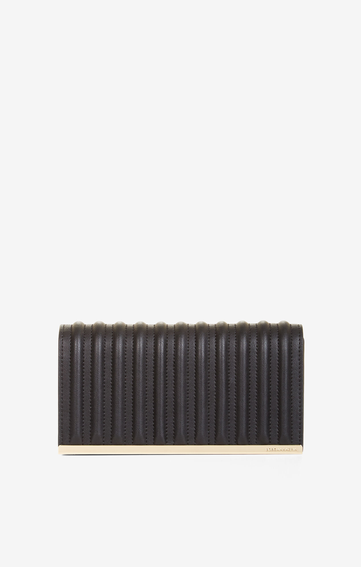 Esma Faux-Leather Bombay Clutch