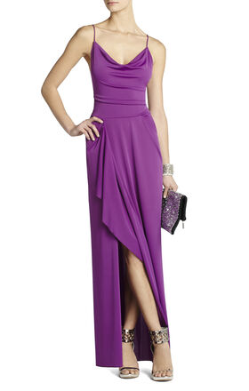 Hedi Draped Gown