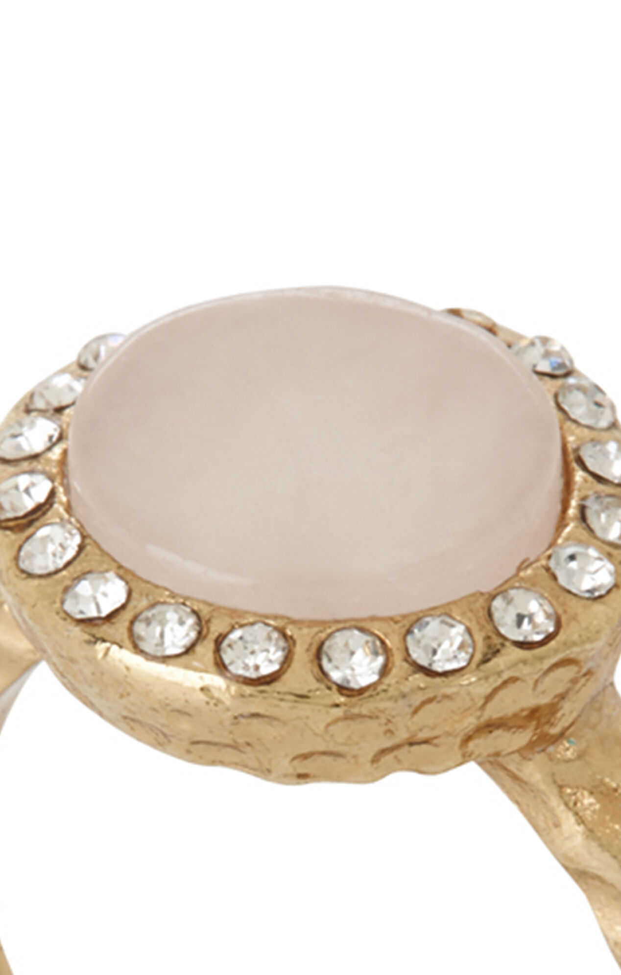 Delicate Natural Stone Ring
