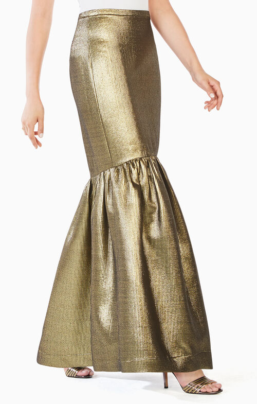 Jen Metallic Mermaid Skirt
