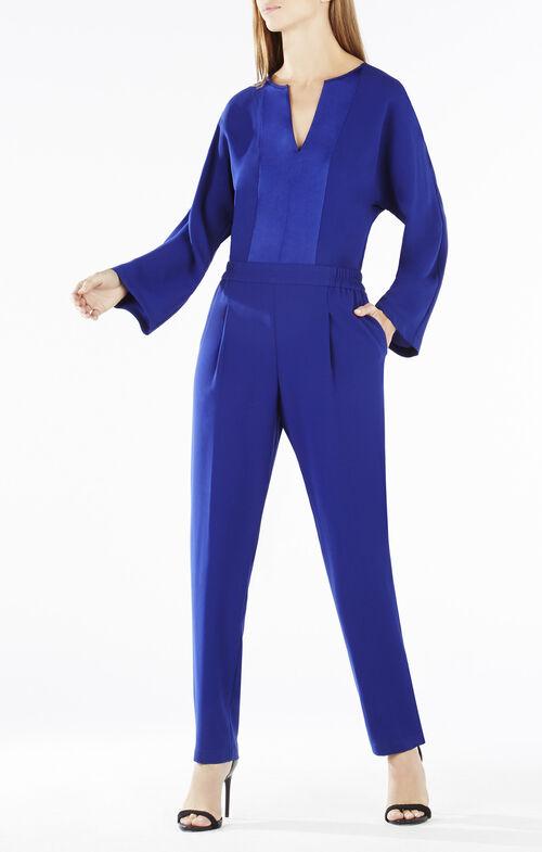 Fraiser Long-Sleeve Jumpsuit