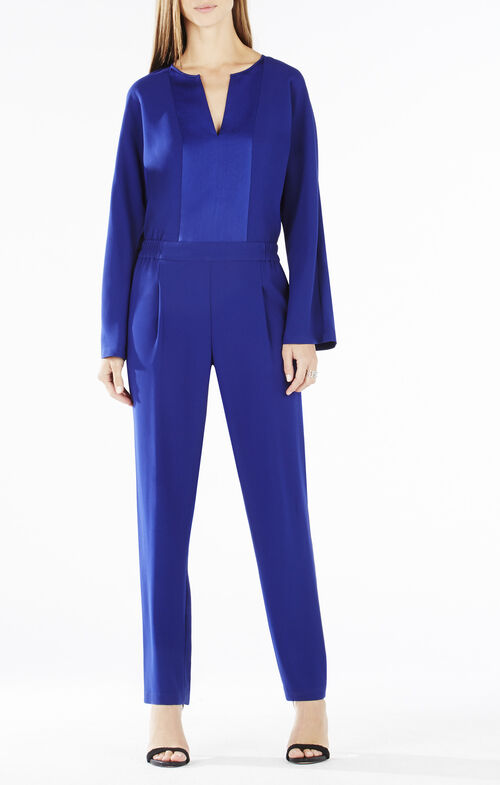 Fraiser Long-Sleeve Jumpsuit