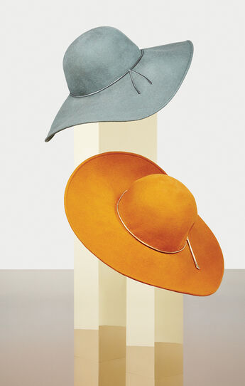 Couture Floppy Hat