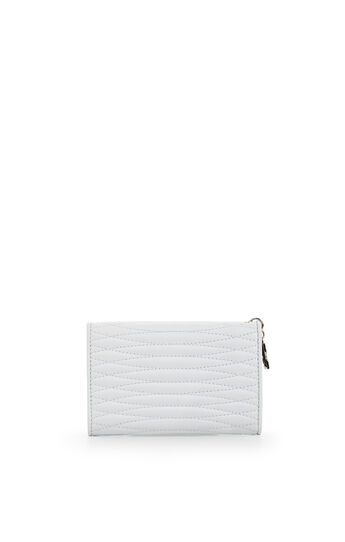Demi Quilted Leather Tech Wallet