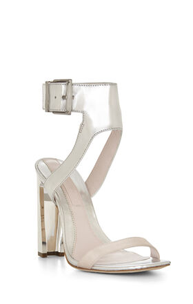 Pacer Open-Toe High-Heel Dress Sandal