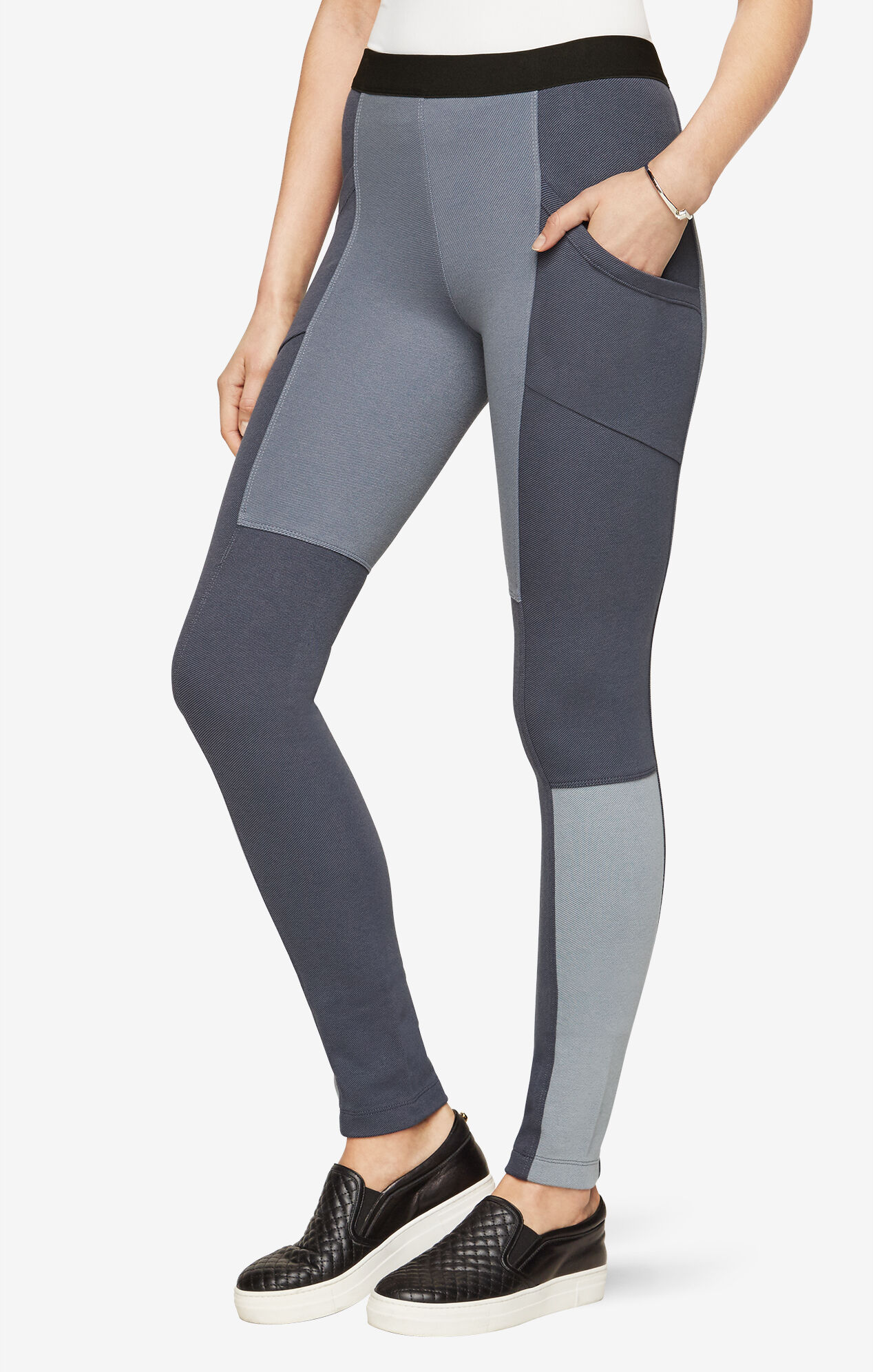 Ryasand Ponte-Blocked Legging